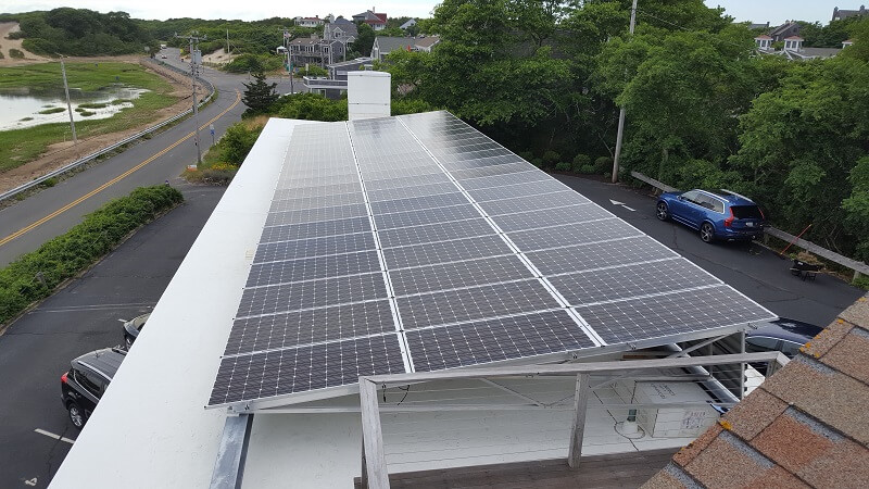 Creative Commercial Solar Installation Provincetown