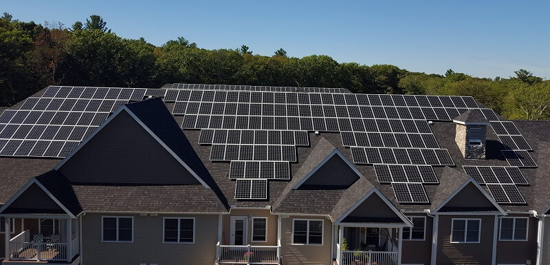 Ashland Woods Commercial Solar Installation