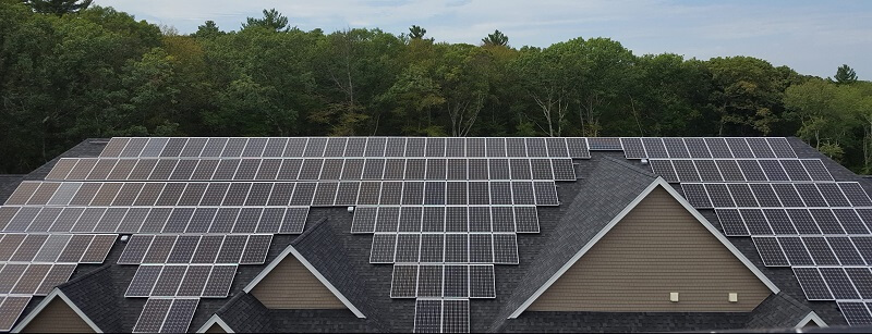 Ashland Woods commercial solar system