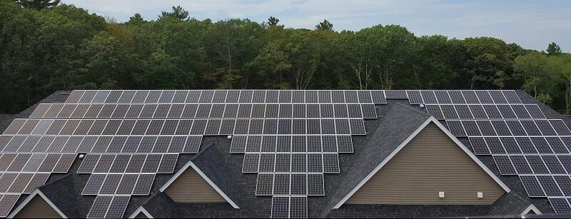 Ashland Woods commercial solar system