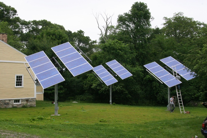 Residential Solar Trackers