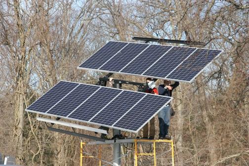 Residential Solar Tracker